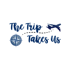 Logo for The Trip Takes Us