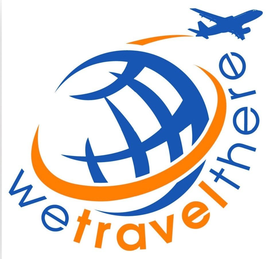 The logo for the We Travel There podcast, on which Kathy Forest spoke about Arlington, VA